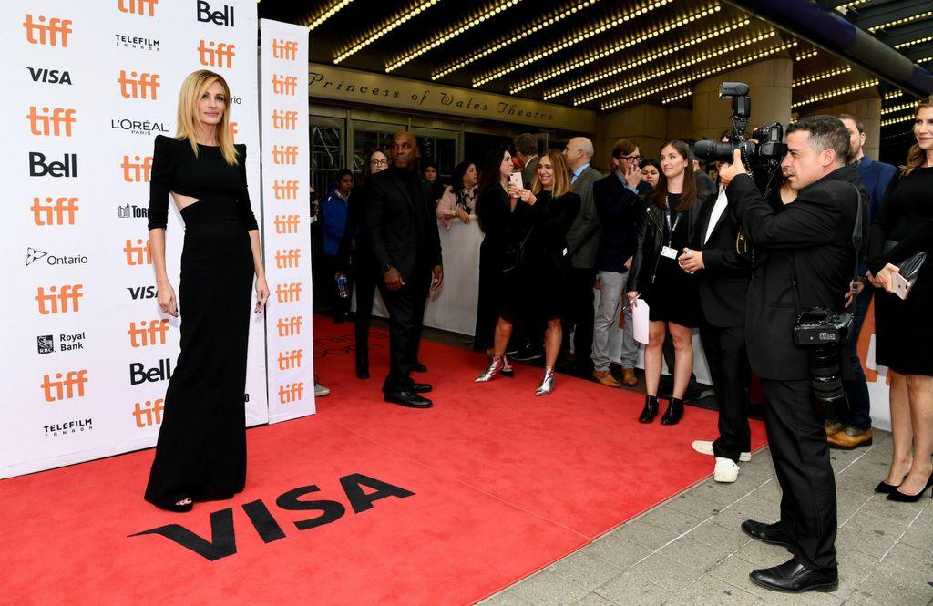 Julia na Filmskom festivalu u Torontu