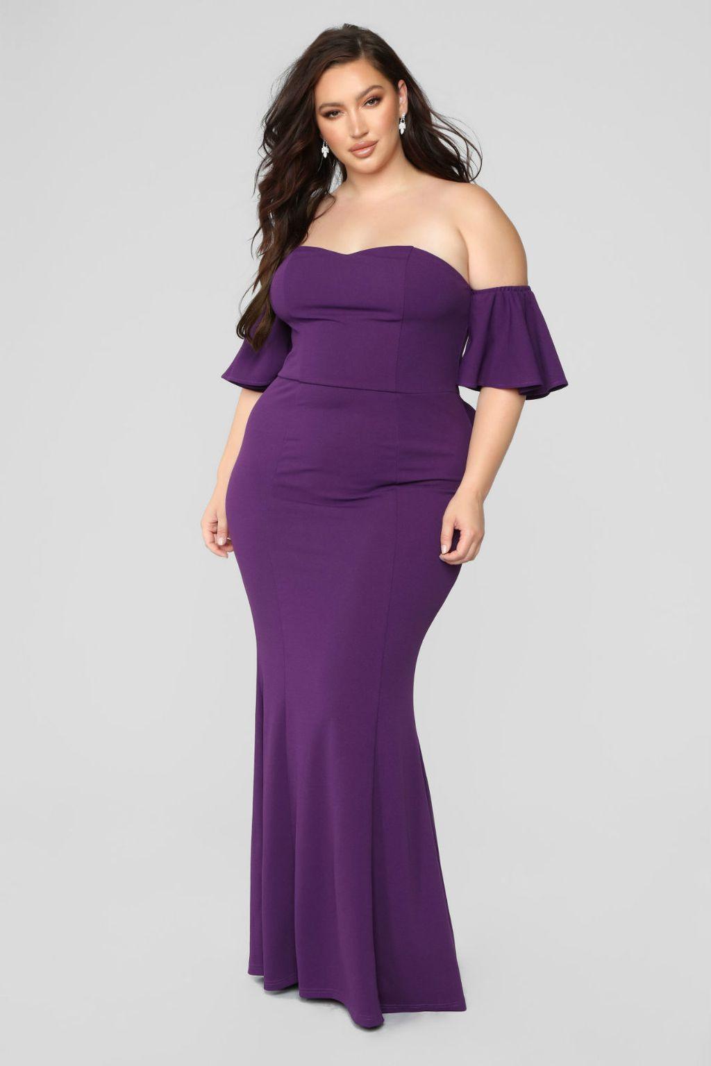Svečane haljine XL veličine iz Fashion Nove - 2