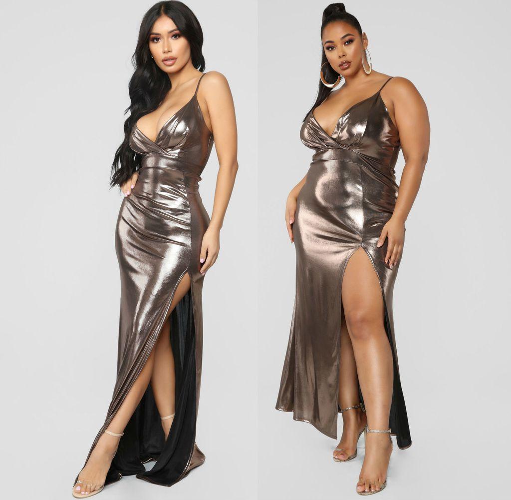 Svečane haljine XL veličine iz Fashion Nove - 4