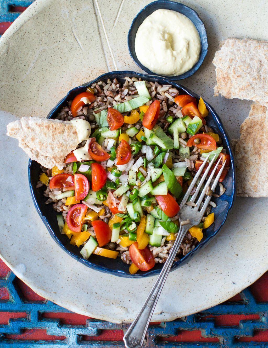 Salata s humusom