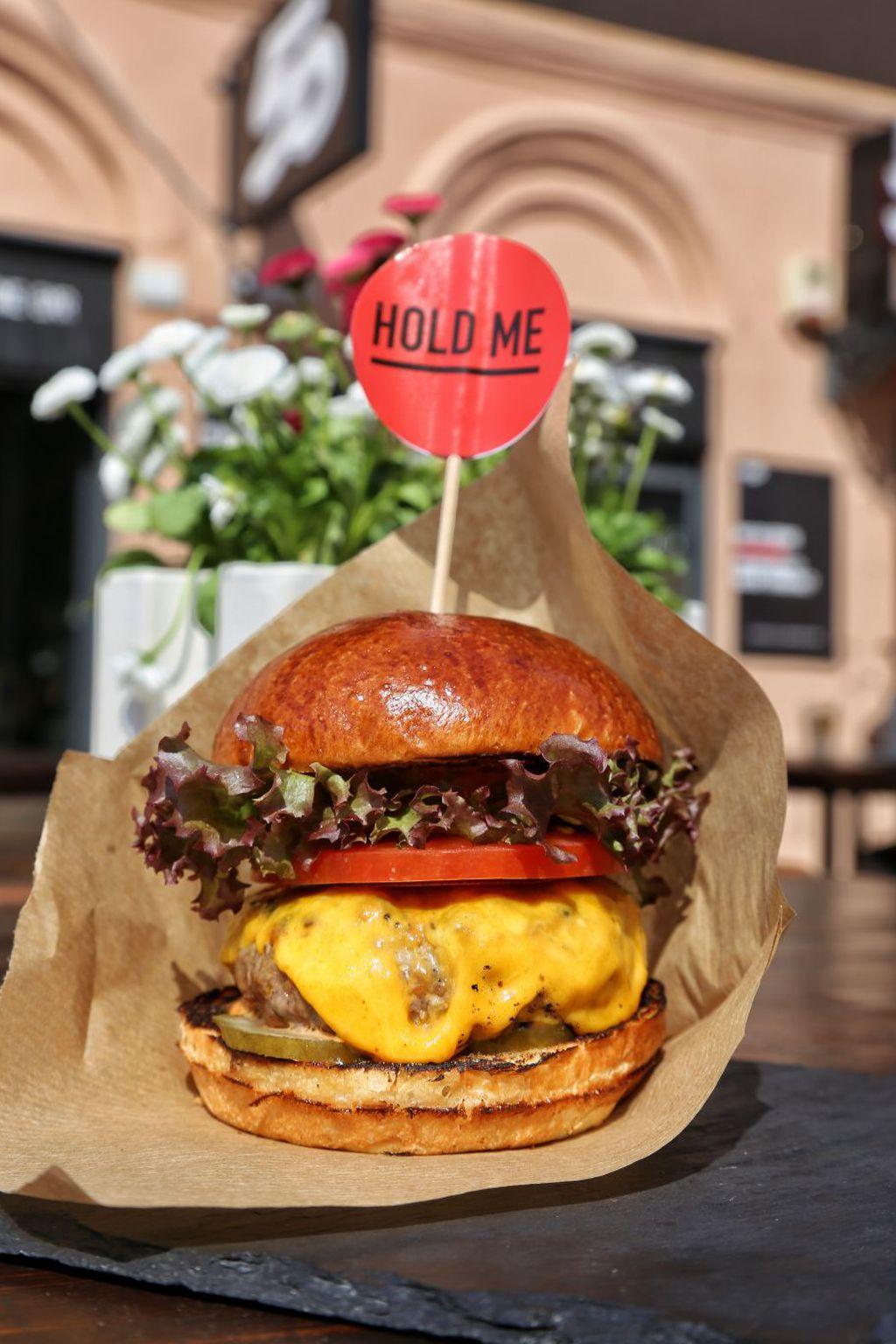 Sočni burger