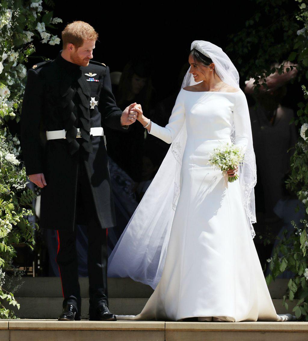 Vjenčanicu Meghan Markle napravila je modna kuća Givenchy
