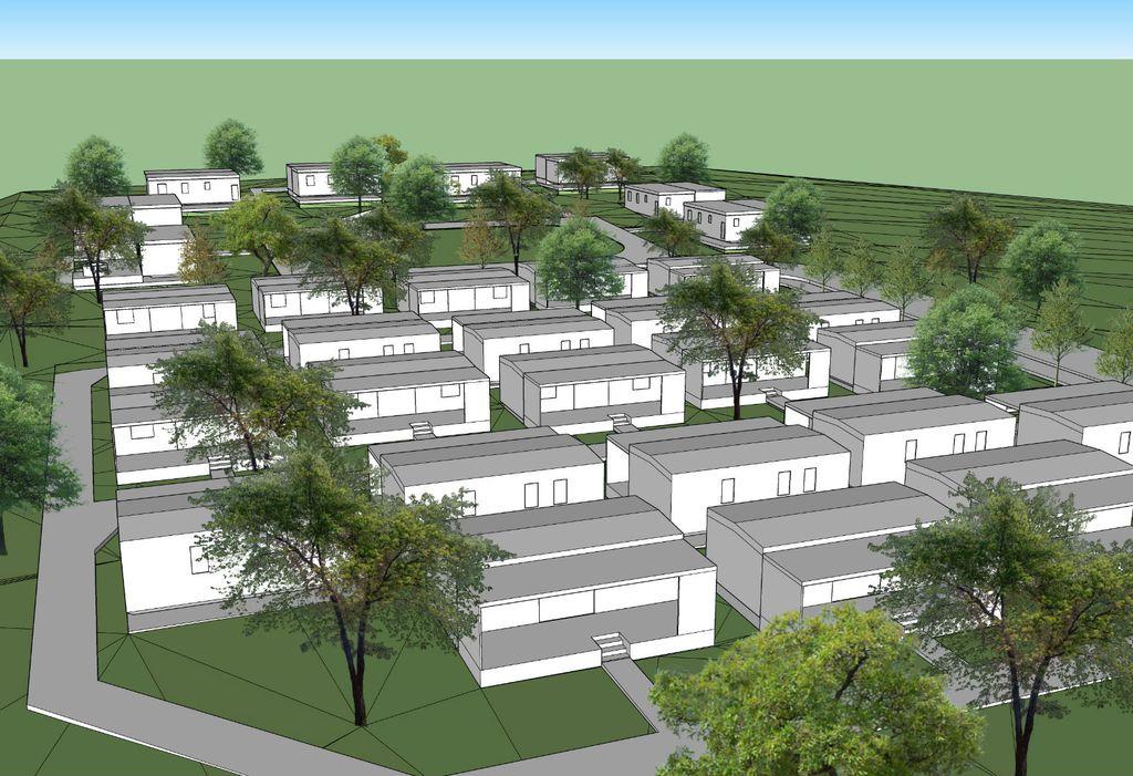 Kamp će imati 32 mobilne kućice