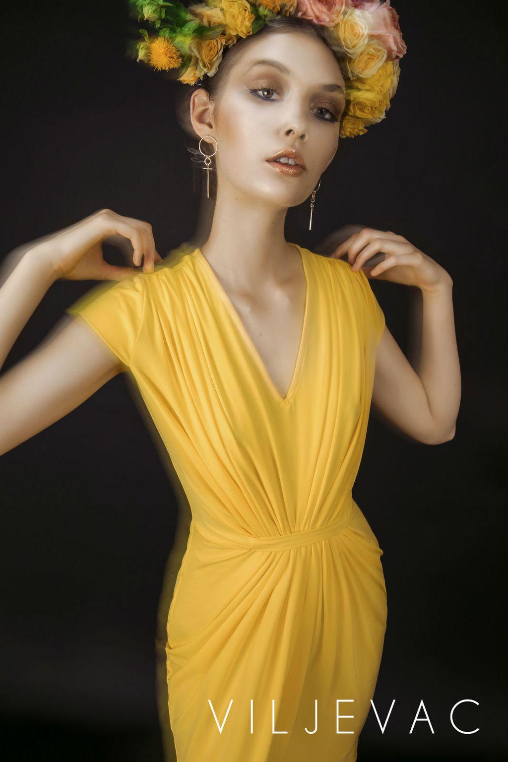 Kolekcija haljina za jesen dizajnerice Diane Viljevac - 7