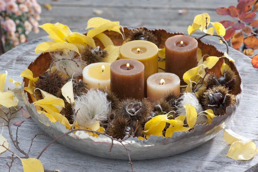 Plodovi jeseni i mirisne svijeće unijet će dašak prirode i topline u dom