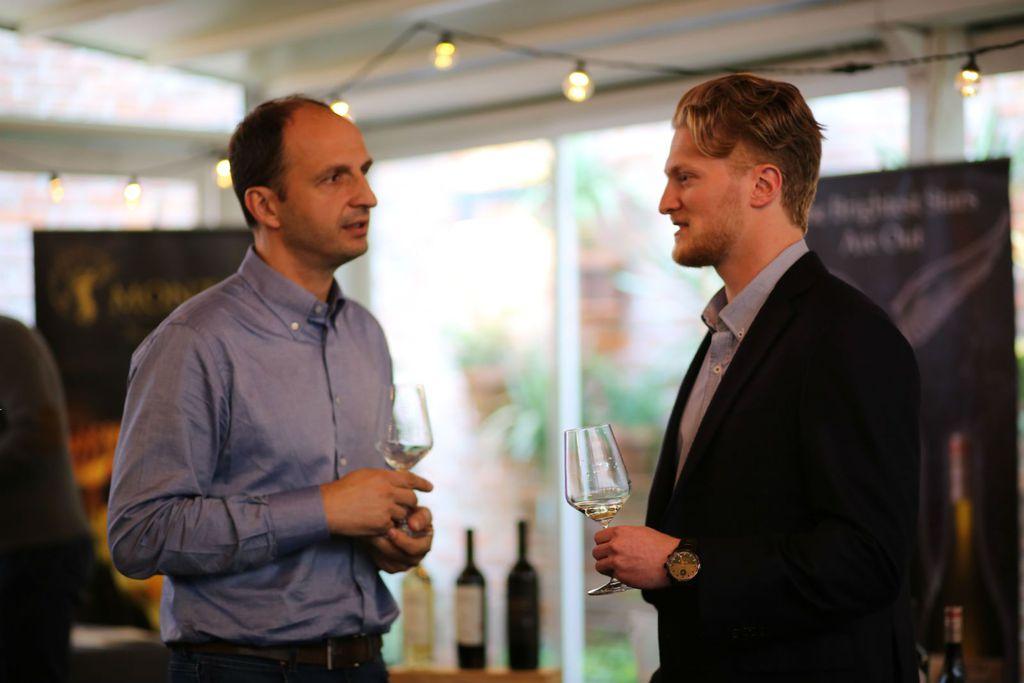 Saša Špiranec i brend ambasador vinarije Bryan Steinsapir