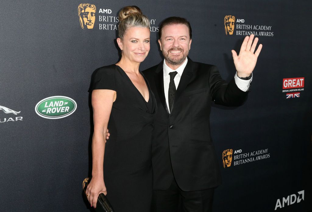 Jane Fallon i Ricky Gervais
