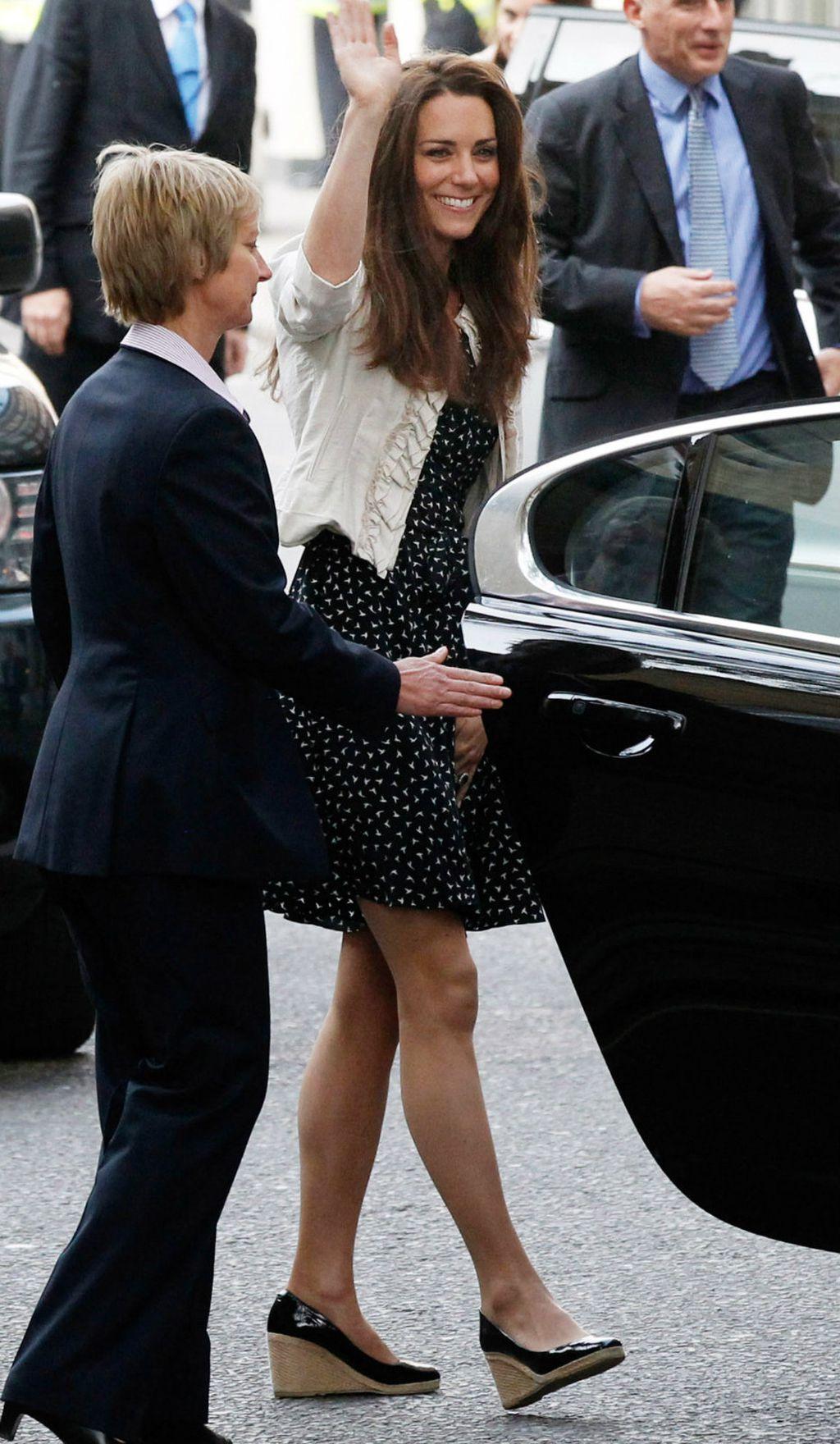 Catherine se od platformi nije odvajala ni dan uoči svog vjenčanja 2011. godine