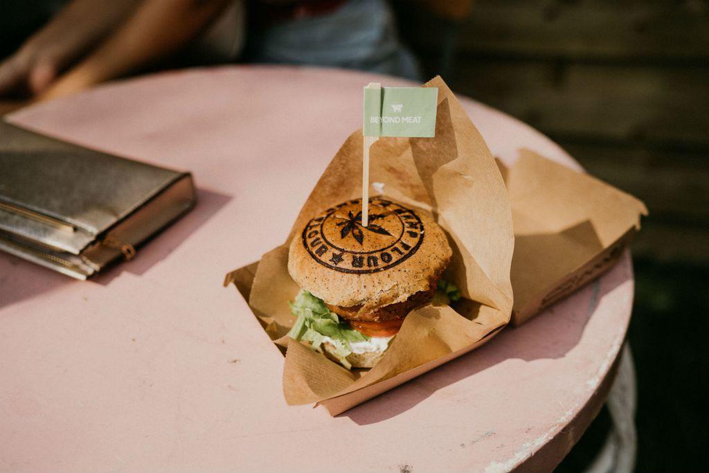 Beyond High burger