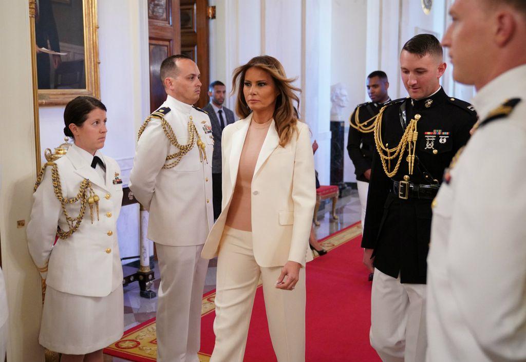 Melania Trum na ceremoniji dodjele Predsjedničke medalje slobode
