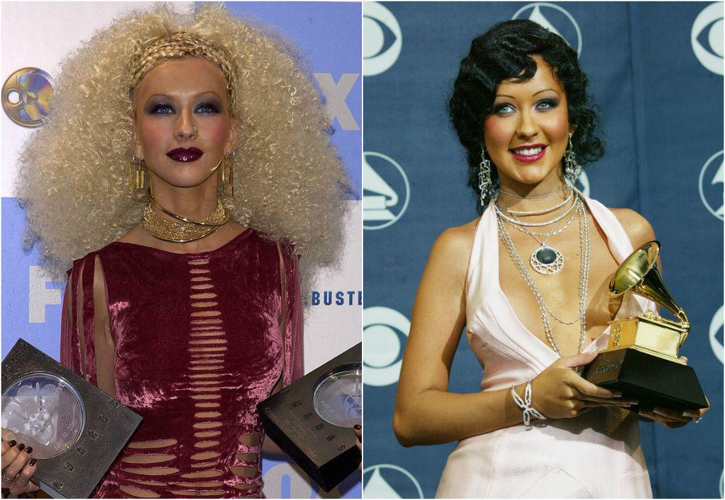 Christina Aguilera voljela je eksperimentirati s frizurama
