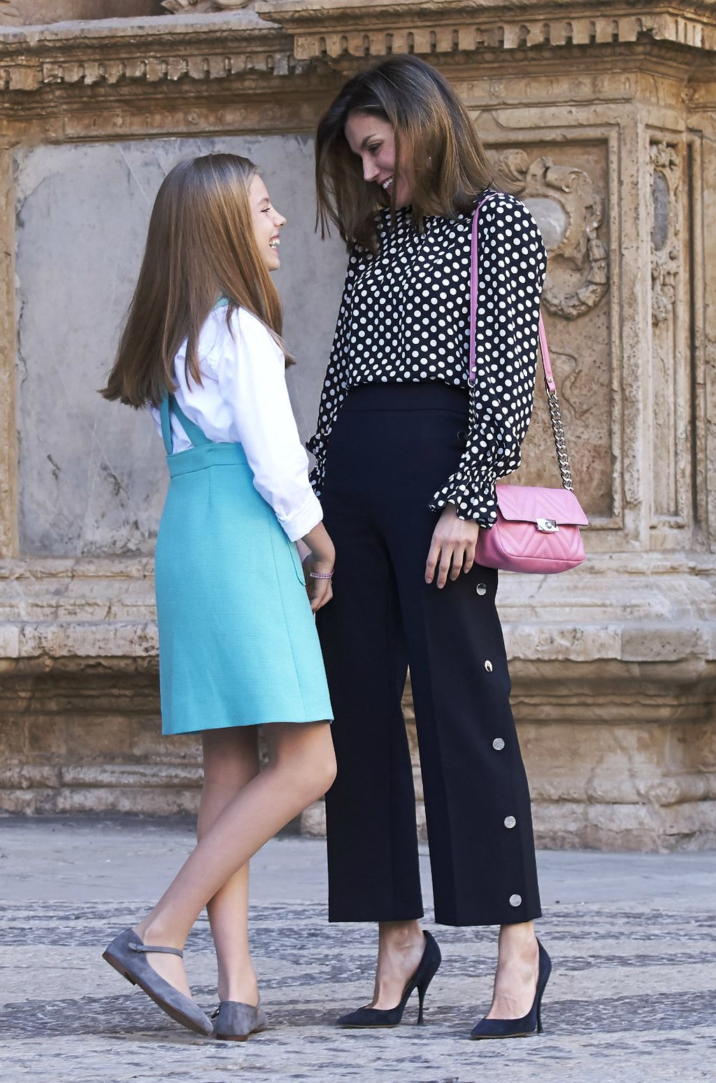 Letizia 2018. godine sa svojom kćerkicom, princezom Sofijom