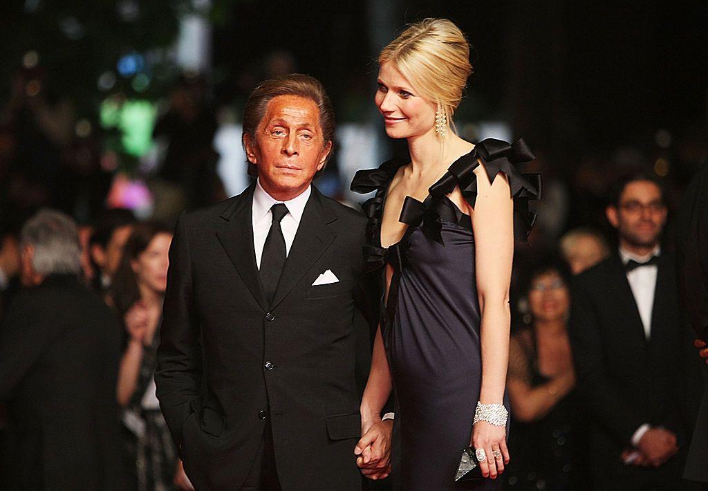Gwyneth i Valentino 2008. godine u Cannesu