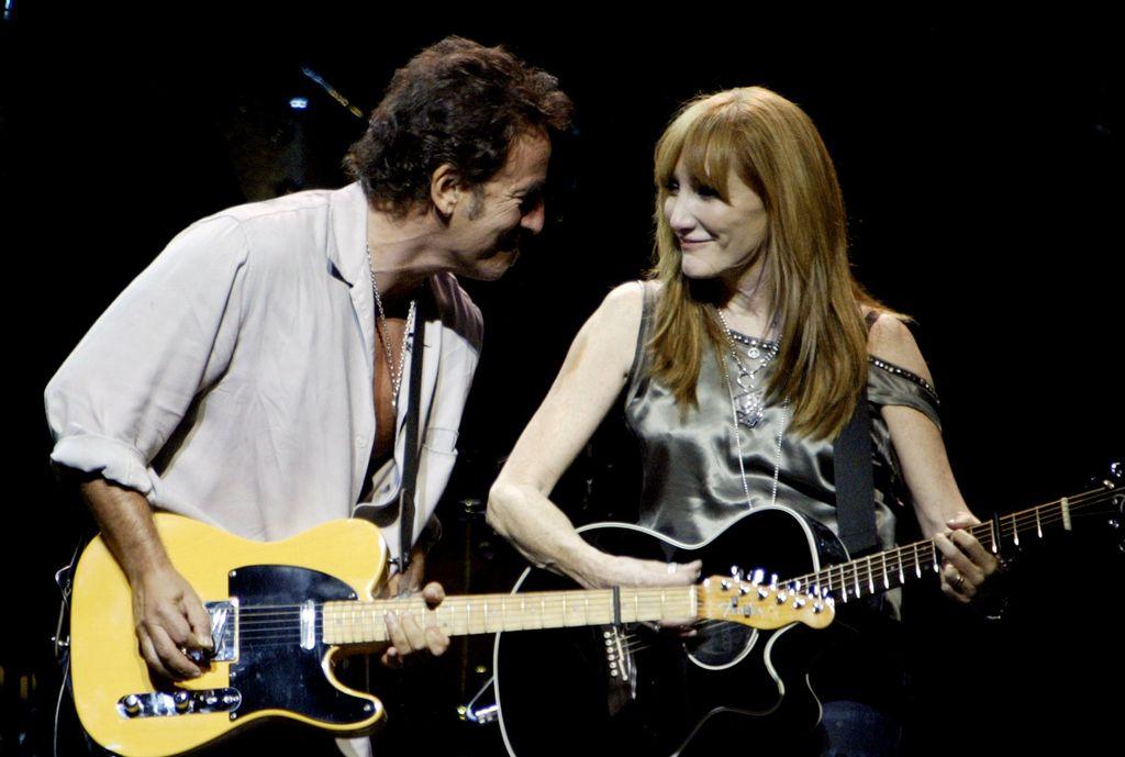 Bruce Springsteen i Patty Scialfa