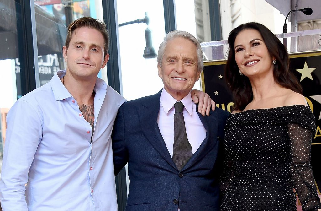 Catherine Zeta-Jones i Michael Douglas - 1