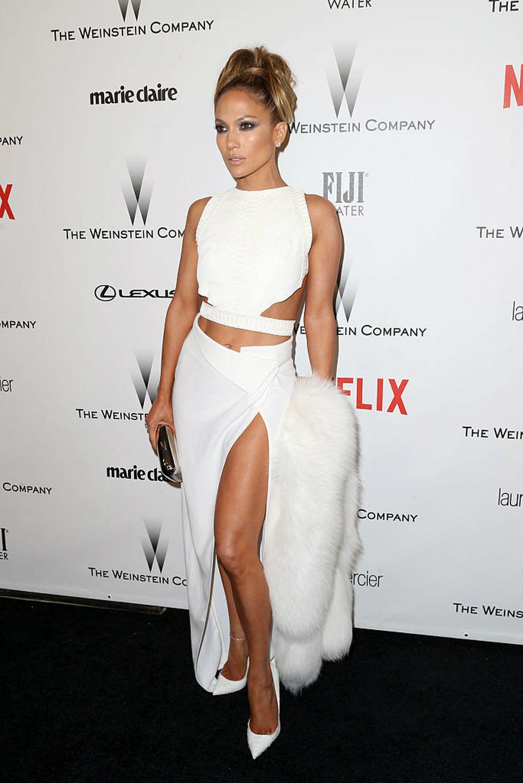 Bijele kombinacije Jennifer Lopez - 6
