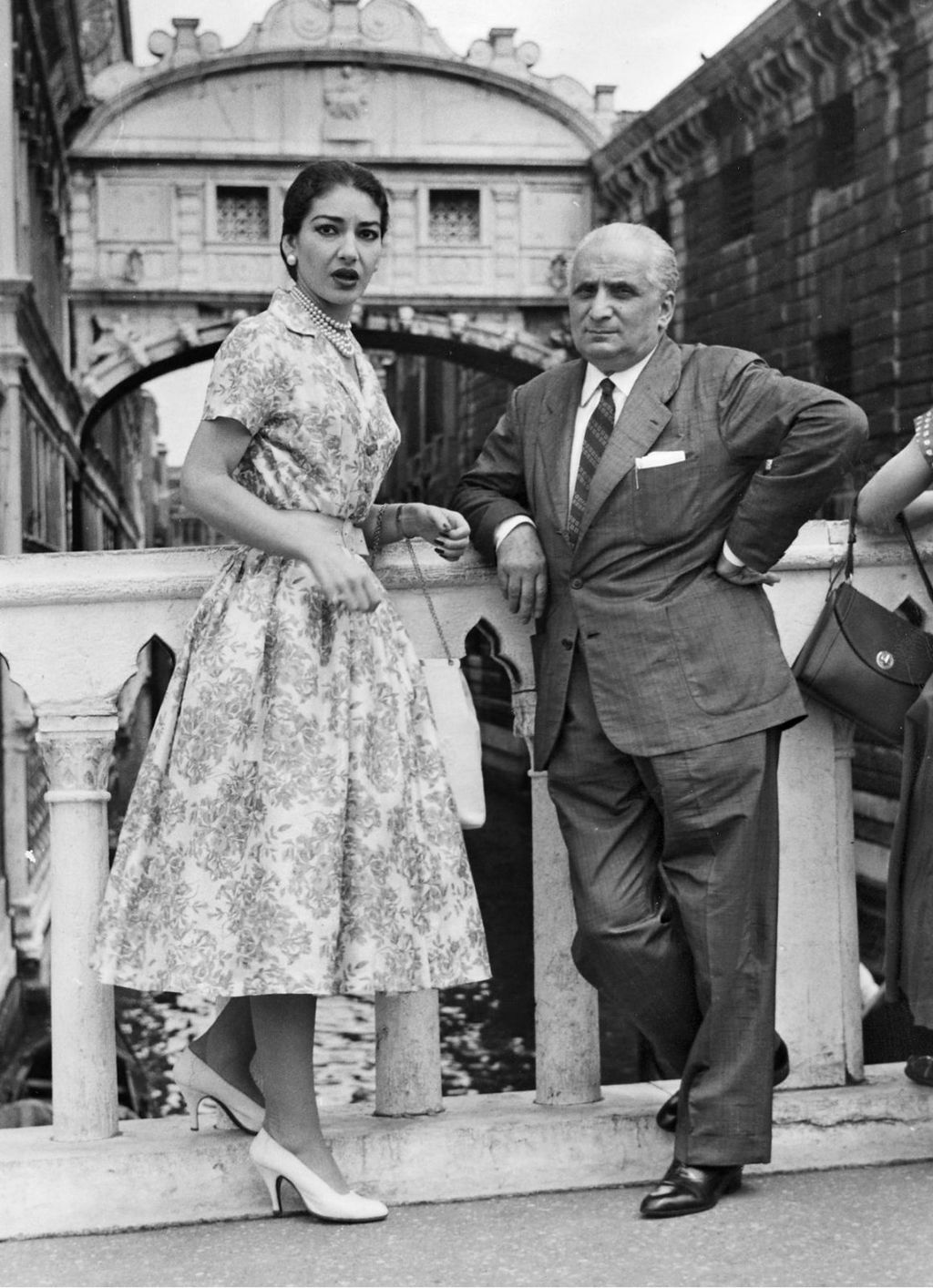 Maria Callas i njezin suprug Giovanni Battista Meneghini