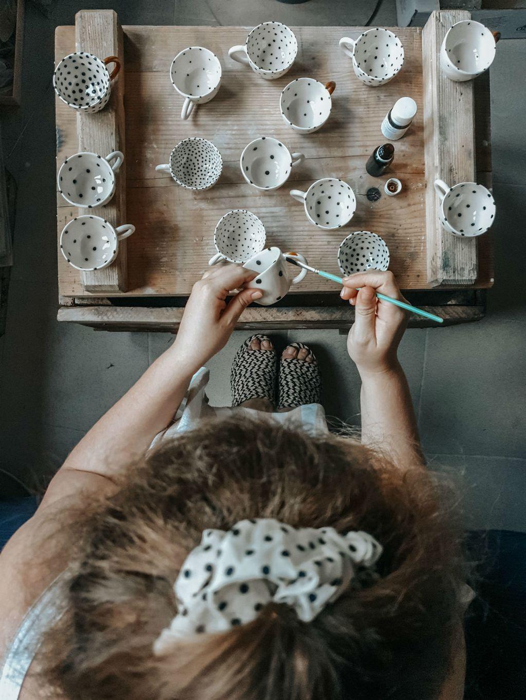 Chia šalice izrađuje svestrana umjetnica Filipa Sorko - 4