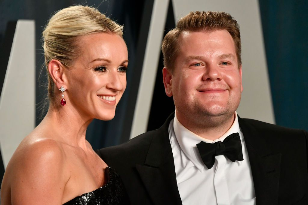 Julia Carey i James Corden