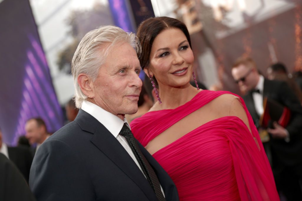 Michael Douglas i Catherine Zeta Jones