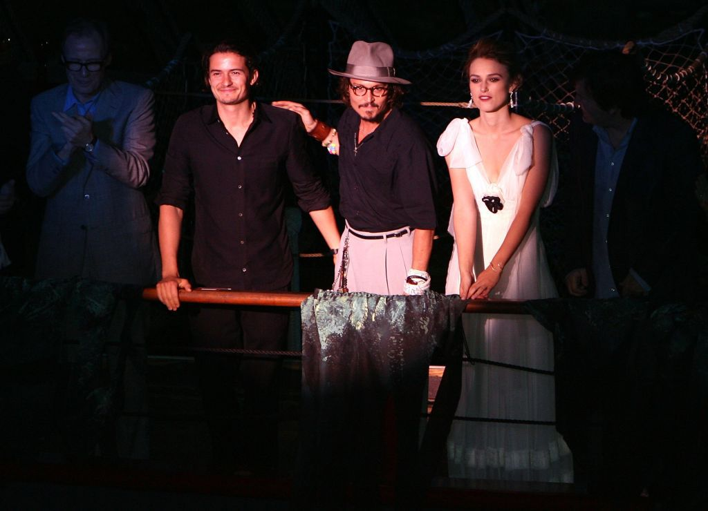 Orlando Bloom, Johnny Depp i Keira Knightley