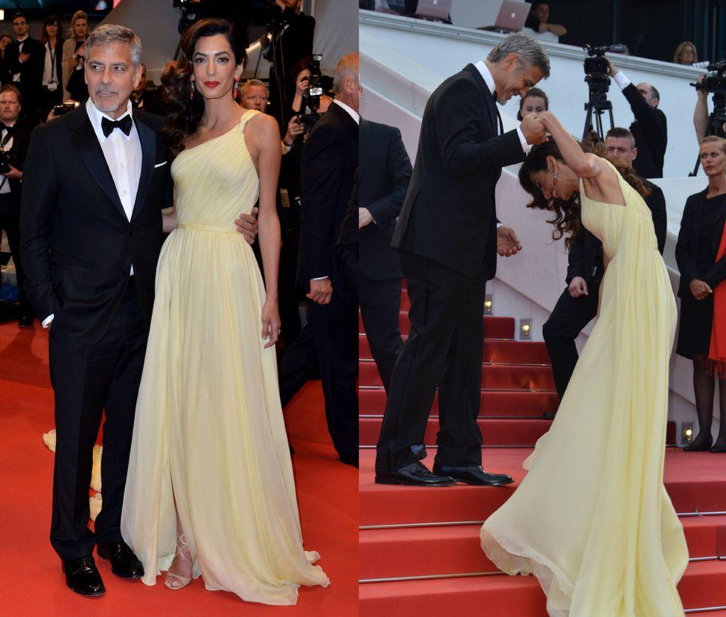 Stepenice na Cannesu predstavljale su veliki izazov i Amal Clooney 2016. godine