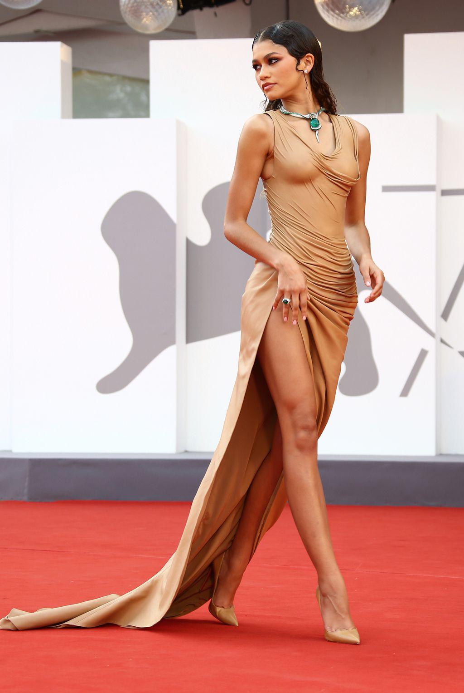 Zendaya u haljini modne kuće Balmain