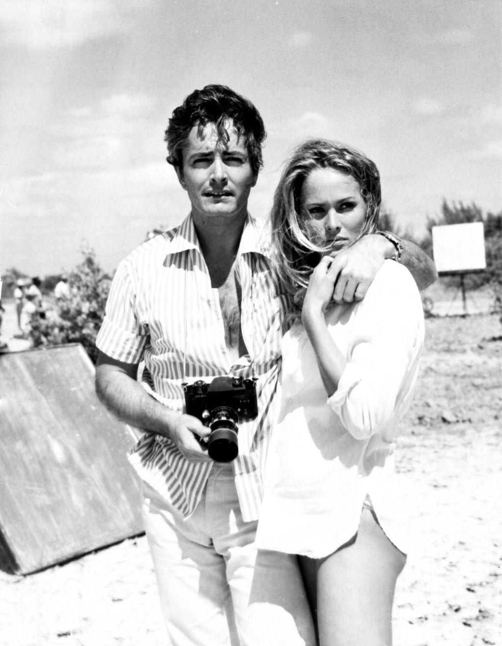 John Derek i Ursula Andress