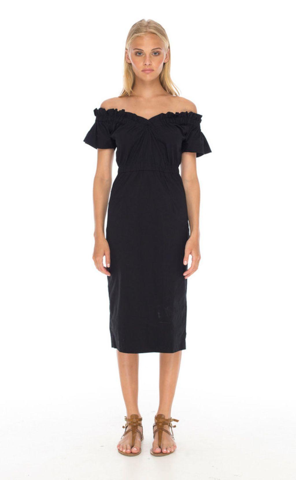Kraljica Letizia u maloj crnoj haljini španjolskog brenda Maria Malo - 4