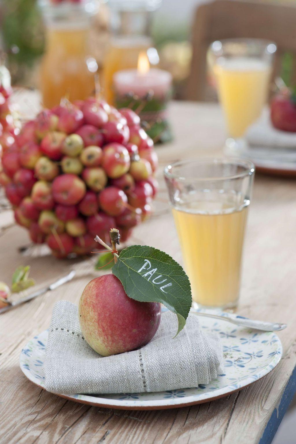 Svježe jabuke mogu biti sjajan detalj za ukrašavanje doma - 10