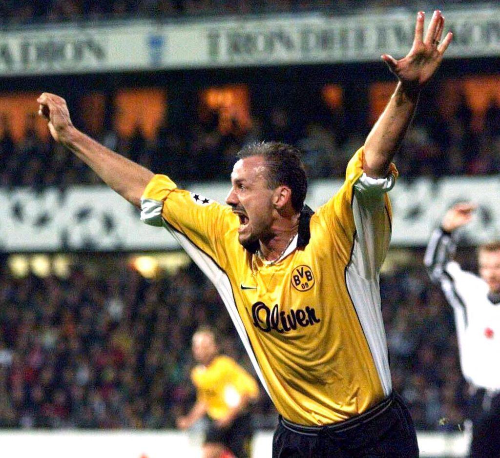 Jürgen Kohler u dresu Borussije Dortmund