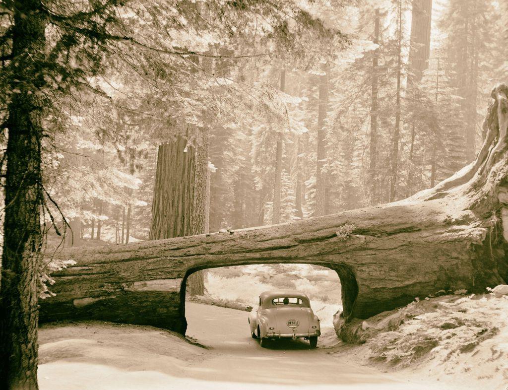 Fotografija tunela iz 1957. godine