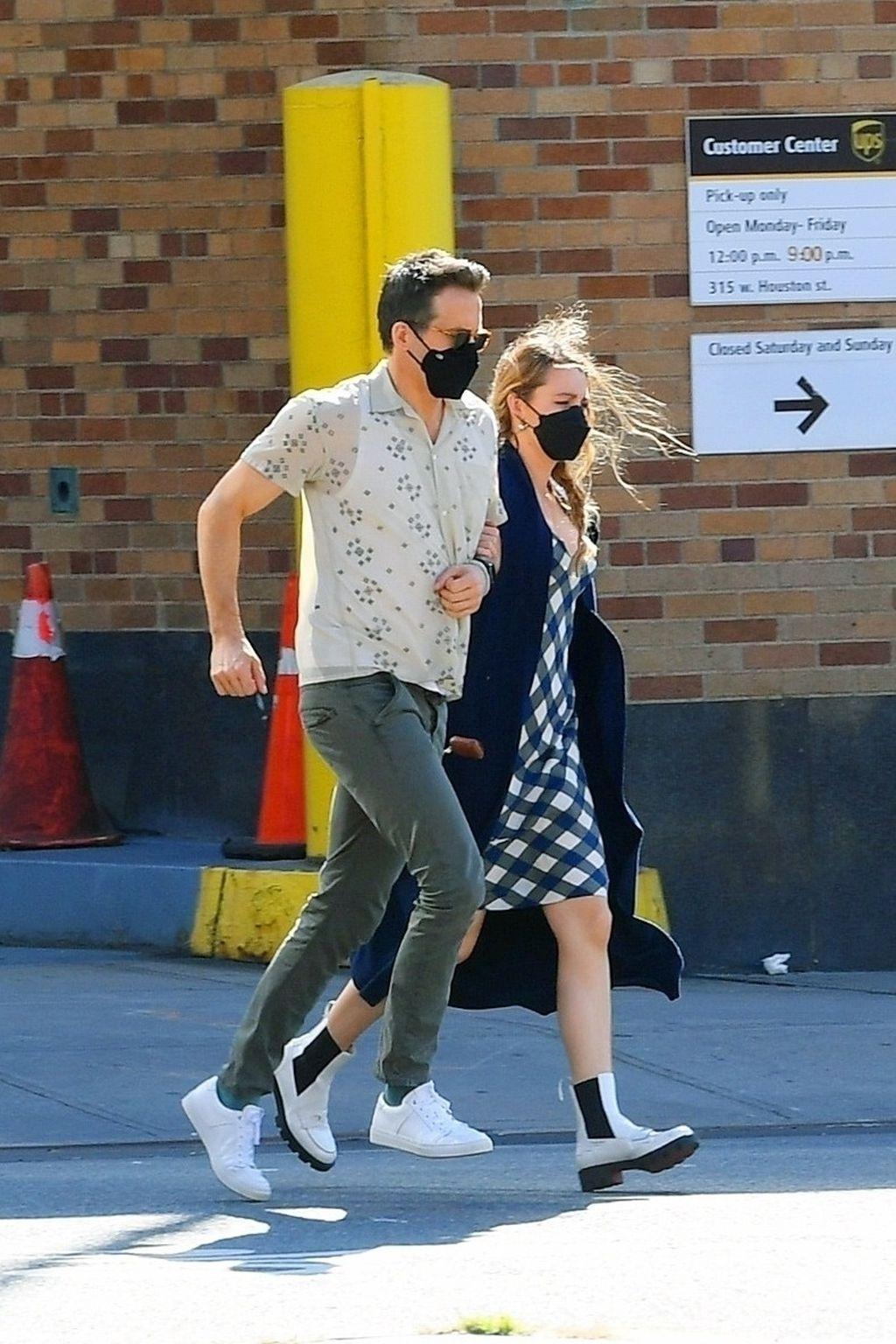 Ryan Reynolds i Blake Lively u šetnji