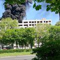 Požar na zgradi u Središću (Foto: Dnevnik.hr)