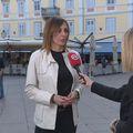 Marija Vukelić, voditeljica službe Turističke inspekcije, i Katarina Jusić (Foto: Dnevnik.hr)