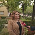 Anja Šimpraga, saborska zastupnica SDSS-a, i Andrija Jarak