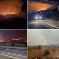 Fotografije s požarišta kod Trogira