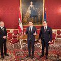 Nova austrijska vlada predstavljena predsjedniku (Foto: AFP)