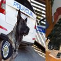 Drogu je nanjušila policijska kujica Twinnie (Foto: Vjeran Zganec Rogulja/PIXSELL/PU Krapinsko-zagorska)