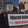 Prosvjed u Splitu (Dnevnik.hr)