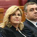 Kolinda Grabar-Kitarović i Mate Radeljić (Foto: Sanjin Strukic/PIXSELL)
