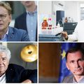 Ivan Đikić, Gordan Lauc, Miroslav Radman i Dragan Primorac