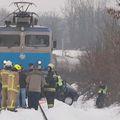 Mjesto kod Donjeg Zvečaja na kojem se vlak konačno zaustavio (Foto: Dnevnik.hr)