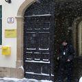 Opljačkana poslovnica pošte u Basaričekovoj 11 (Foto: Patrik Macek/Pixsell)