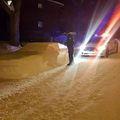 Policajce je umjesto nepropisno parkiranog vozila dočekao snjegović (FOTO: Facebook/Maxime Tot)