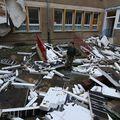 Odletio je krov škole u Njemačkoj (Foto: AFP)