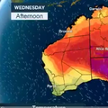 Toplinski val, Australija (Foto: Screenshot Bureau of Meteorology)
