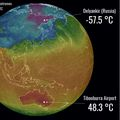Ogromna razlika u temperaturi (Foto: Severe Weather Europe)