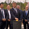 Plenković otvorio dionicu Istarskog ipsilona