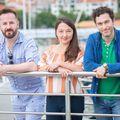 Filip Krenus, Susan Hingey, Ben Cutler (Foto: PR)